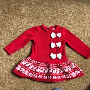 Maggie & Zoe Christmas 🎄 Sweater Dress worn once